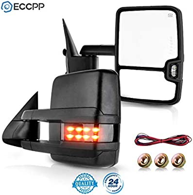 [SCHEMATICS_4HG]  Amazon.com: ECCPP Towing Mirrors Replacement fit for 1999-2002 Silverado  Sierra Power Heated Smoke Led Signal Pickup Mirrors: Automotive | 2002 Silverado Wiring Diagram Heated Mirrors |  | Amazon.com