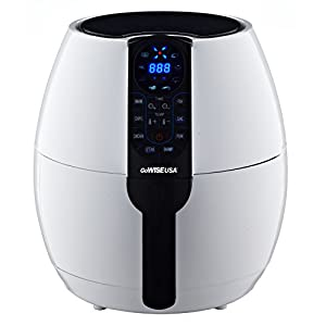 GoWISE USA 3.7-Quart Air Fryer (White)