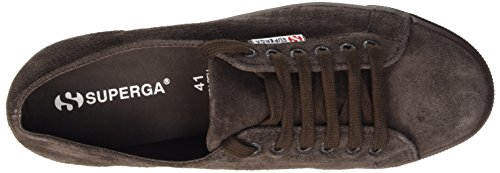 Superga 2790-suew - Zapatillas de deporte Mujer Marrón - Marron (G08 Full Dk Chocolate)