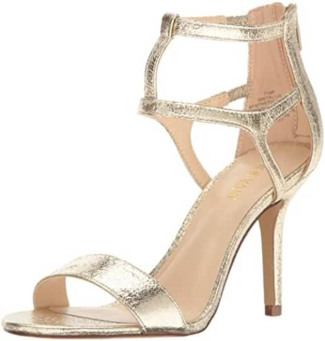 Nine West Women's Alija Leather Dress Sandal