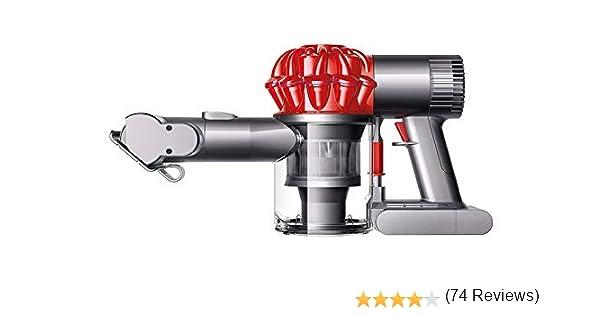 Dyson DC43H Aspiradora de mano con 2 modos de aspiración, 100 W, 87 Decibelios, Policarbonato, Rojo: 228.02: Amazon.es: Hogar