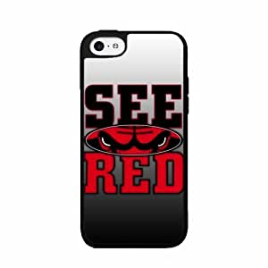 See Red Bulls - Plastic Phone Case Back Cover iPhone 5 5s