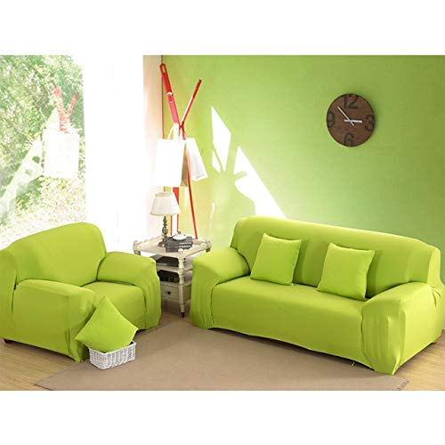1pcs Corner Elastic Sofa Cover Fabric Stretch Spandex Universal Armchair Furniture Covers Elastic Case on Corner Sofa Slipcover   color 22, Single Seat 90-140cm