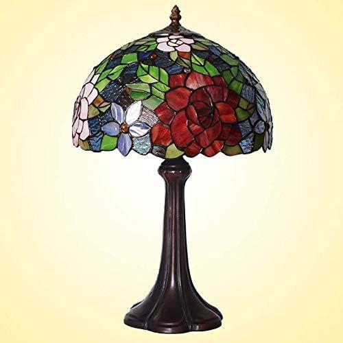 BDHBB Las lámparas de Mesa Estilo Tiffany de 12 Pulgadas se ...