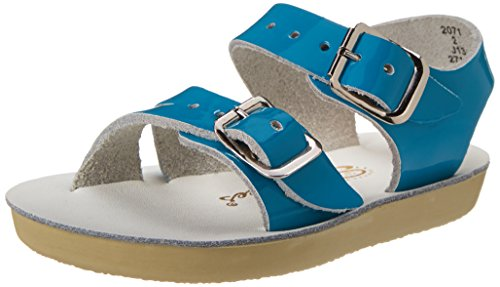 Salt Water Sandals by Hoy Shoe Sea Wees,Turquoise,2 M US -