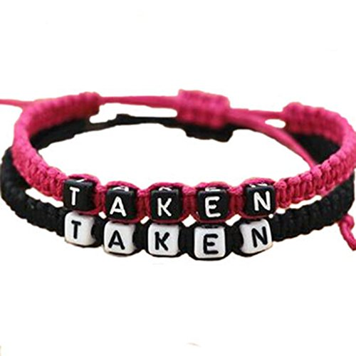 Taken Bracelet Black Couple Christmas product image