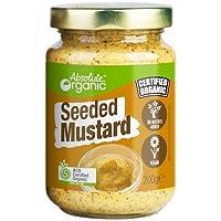 Absolute Organic Seeded Mustard, 200g