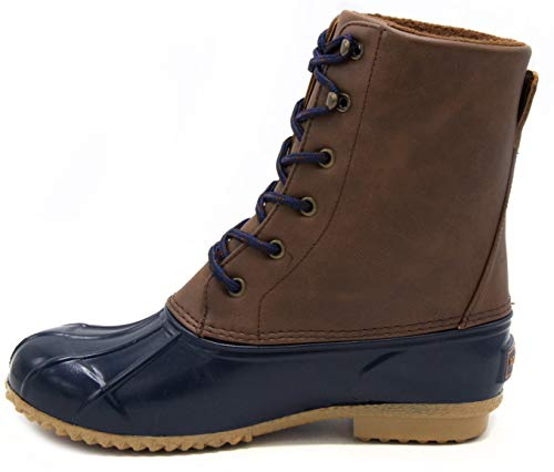 Image of London Fog Womens Wonder Cold Weather Duck Boot Navy 9 M US