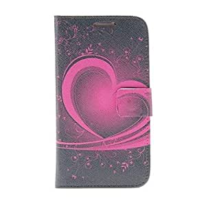 GHK - Kinston Heart Of The Art Pattern PU Leather Full Body Case with Stand for Samsung S4 I9500