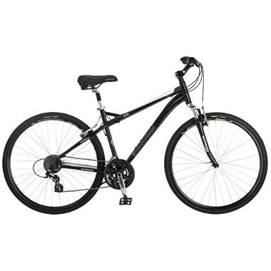 Schwinn Men's Mica 2.0 Hybrid Bike, Black, 18-Inch/Medium