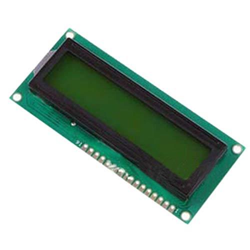 SHAPB 5pcs/lot 5V 1602 LCD Display Module White Character Yellow Green Blacklight for Duemilanove Robot by SHAPB (Image #2)