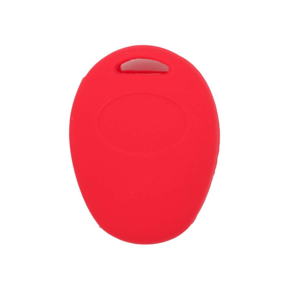 SEGADEN Silicone Cover Protector Case Skin Jacket fit for BMW Mini Cooper 2 Button Remote Key Fob CV4905 Black