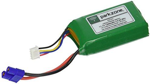 ParkZone 11.1V 1300mAh LiPo Battery with EC3 Connector - Cub Plane Super