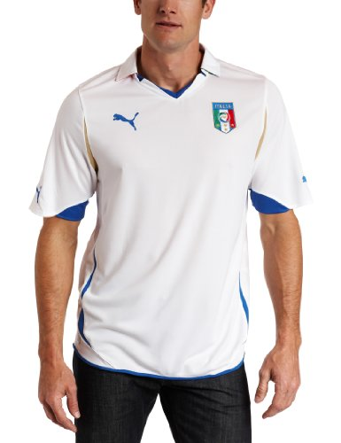 Italy Away Replica Jersey Shirt (White-Team Gold, XX-Large)