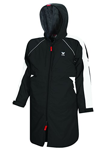 TYR 1WASP2YM Youth Alliance Parka, Black, Medium by TYR
