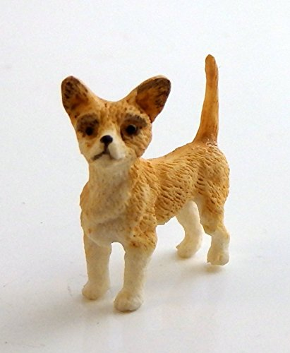 Melody Jane Dolls Houses House Falcon Miniature Animal 1:12 Scale Pet Dog Small Chihuahua Standing