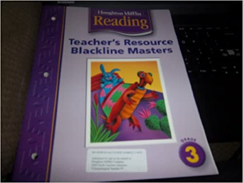 Houghton Mifflin Reading Teacher Resource BLMs Grade 3