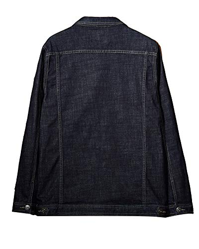 Nero Blu Giacca Uomo In Jeans RtqwHI