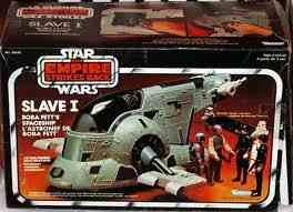 Vintage Star Wars - The Empire Strikes Back - Boba Fett's Slave I Spaceship From 1981 Made By Kenner (Kenner Vintage Star Wars)