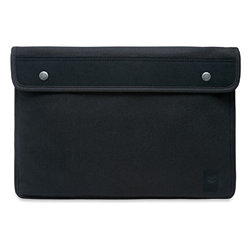 Timberland CA11UG001 Women's Natick Laptop Sleeve, Black, One Size