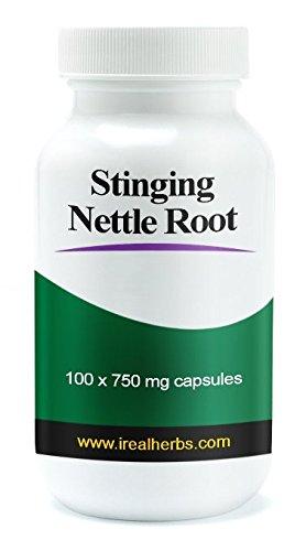 Ortie racine extrait supplément Pills-augmentent votre testostérone-avantages gratuits pour votre santé et de la Prostate, musculation et perte de cheveux - 100 capsules - 750 mg