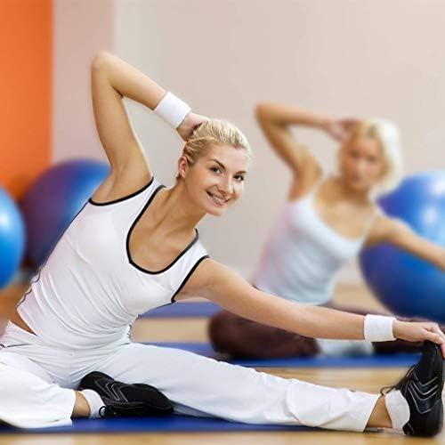 Corsa Yoga 12 polsiere in Cotone per Sport FABSELLER Tennis Calcio Calcio Golf Basket