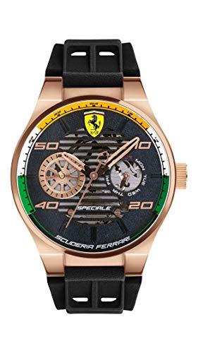 Scuderia Ferrari Analog Black Dial Men #39;s Watch 0830581