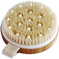 C.S.M. Body Brush for Wet or Dry Brushing - Gentle Exfoliating for Softer, Glowing Skin - Get Rid of Your Cellulite and...