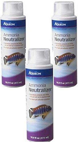 Aqueon Ammonia Neutralizer, 16-Ounce (3 Pack)