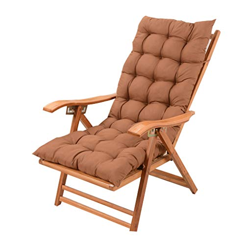 (Reclining Garden Chair Armchair with Padded Cushion Sun Loungers Zero Gravity Chairs Adjustable Relaxer Recliner Foldable for Patio Outdoor Sitting and Lying Dual Use)