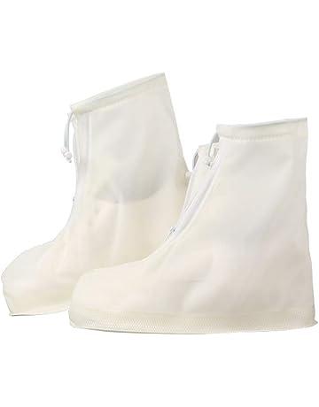 a9bfa615f0f1a ZHONGYU Cubre Zapatos de Nieve para Viajes con cordón