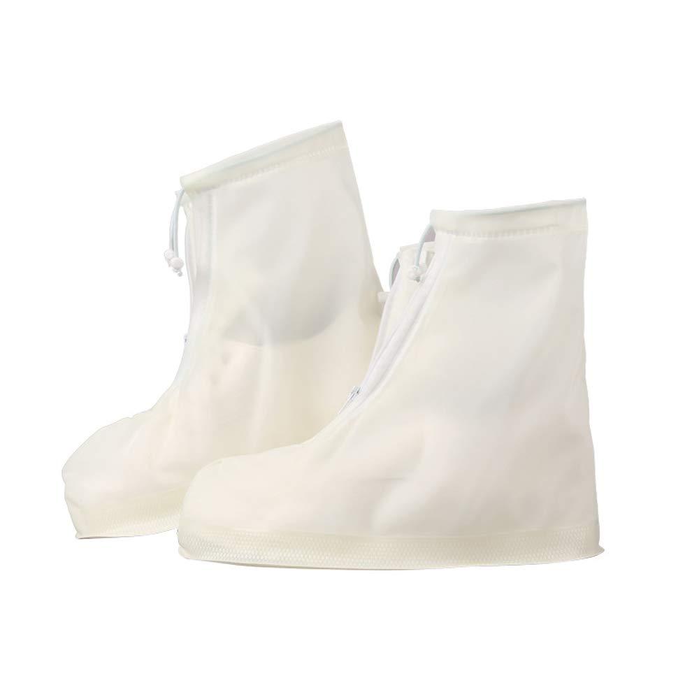 Faraw Couvre-Chaussures imperméables, Bottes de Pluie résistantes à l'usure épaisses à 360 degrés Couvre-Chaussures imperméables de Haute qualité