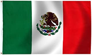 product image for Mexico Flag 6X10 Foot Nylon