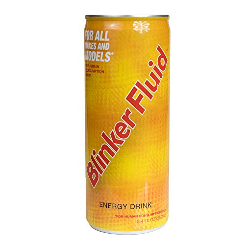 Blinker Fluid Energy Drink – Caffeine, Taurine, Vitamin B6, B12, Niacin – Sports Nutrition For Long Lasting Energy – (250 mL, 6 Pack) - Energy Fluid