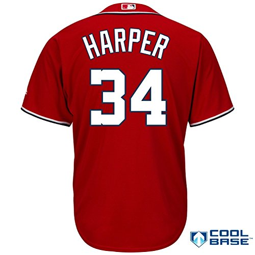 newest d1cdb aba7e 60%OFF Bryce Harper Washington Nationals #34 MLB Men's Big ...