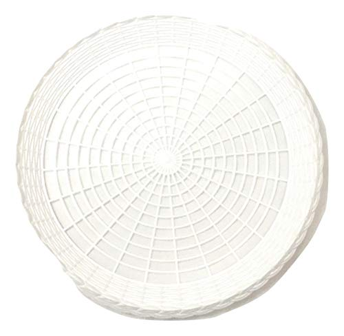 (FREEDco Reusable White Plastic Paper Plate Holder for 9