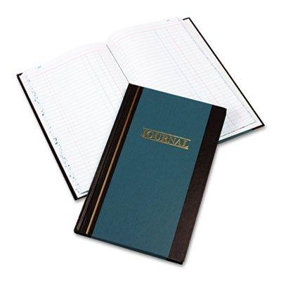Wilson Jones S30015J Journal Book, Two-Column, Blue Hardcover, 150 Pages, 11 3/4 x 7 (Wilson Jones S300 Line)