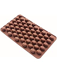 Coolrunner 55 Mini Coffee Bean Silicone Mold Bakeware Baking Chocolate Pastry Decoration Ice Candy Butter Jello Making Homemade Mould