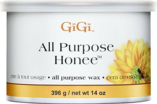 GiGi All Purpose Honee Hair Removal Soft Wax for All Skin and Hair Types, 14 oz (Best Way To Remove Makeup From Carpet)
