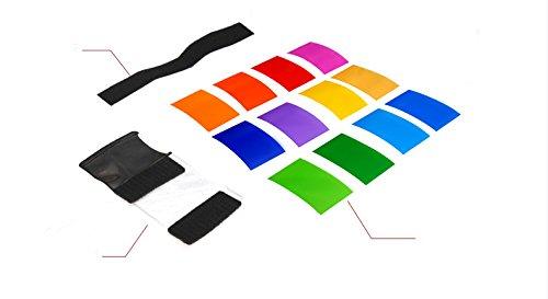 12 x Farbfolien Filter Set mit Halterung zu: Amazon.de: Kamera