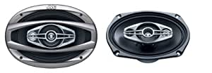 "JVC CS-HX6948 6X9"" 4-Way Coaxial Speakers 490W Mx"