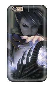 Excellent Design Dark Elf Sorceress Case Cover For Iphone 6