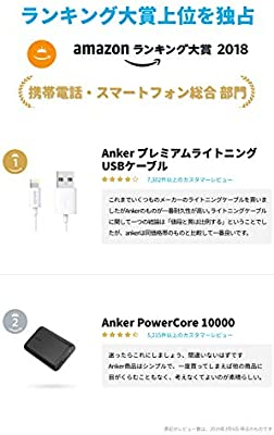 Anker Lightning Cable / iPhone Charging Charger Cable (3ft), MFi Certified  for iPhone XS / XS Max / XR / X / 8 / 8 Plus / 7 / 7 Plus / 6 / 6 Plus / 5S