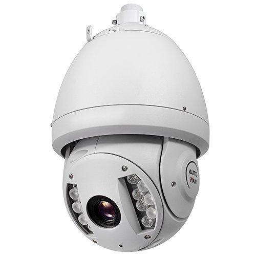 2MP (Megapixel) Outdoor/Indoor PTZ (Pan Tilt Zoom) IP Camera with 300ft IR (Infrared)