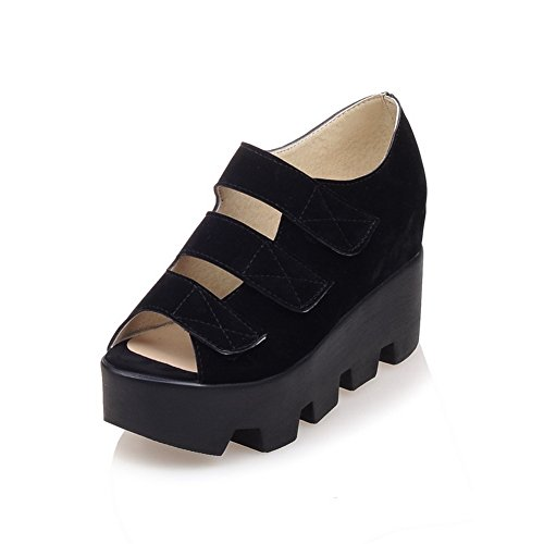 AN Womens Sandals Huarache Water_Resistant Urethane Sandals DIU00733 Black hK3BzQz