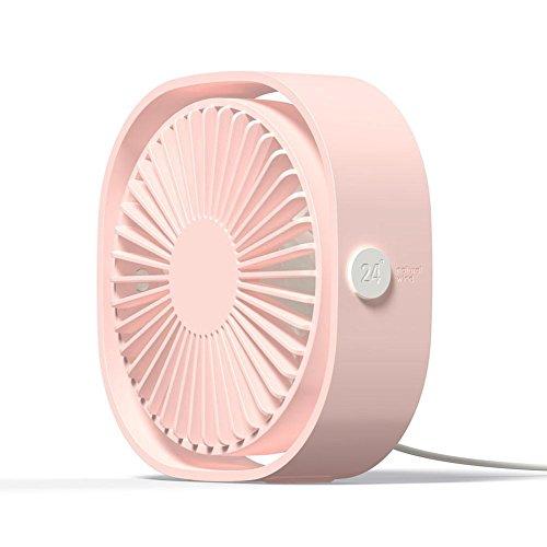 Ventilador portátil, 5 V, 1 A, cuadrado, mini USB, recargable, para viajes, pesca, camping, senderismo, mochila, barbacoa,...