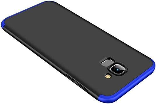 Funda Compatible with Galaxy J6 2018 Ultra Fina Tres en uno Case ...