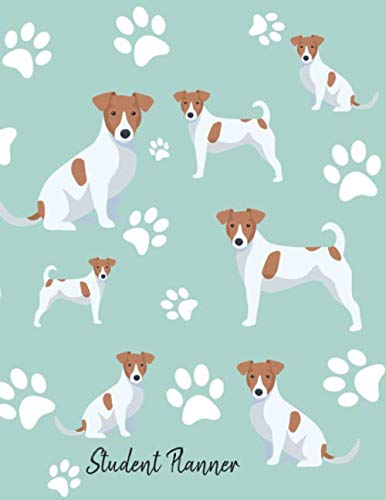 Parson Jack Russell Terrier - Student Planner: School Planner 2019-2020 Jack Russell Terrier Dog