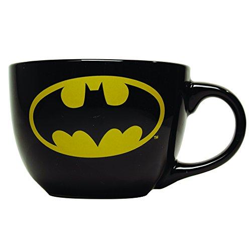 Batman Logo 24oz Ceramic Soup