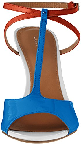 Dress Dip Blush Calvin Lapis Blue Sandal Klein Sarita Women's wnxT01qt6A
